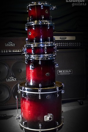 Tama Silverstar All Birch 5 pc Shell Pack Wine Burst