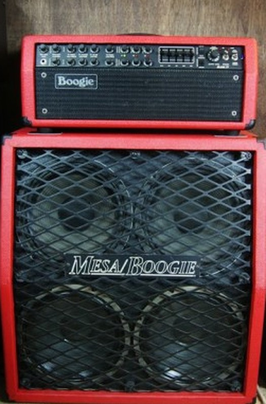 Mesa Boogie Half Stack Custom Red Mark IV (Cab + Head)