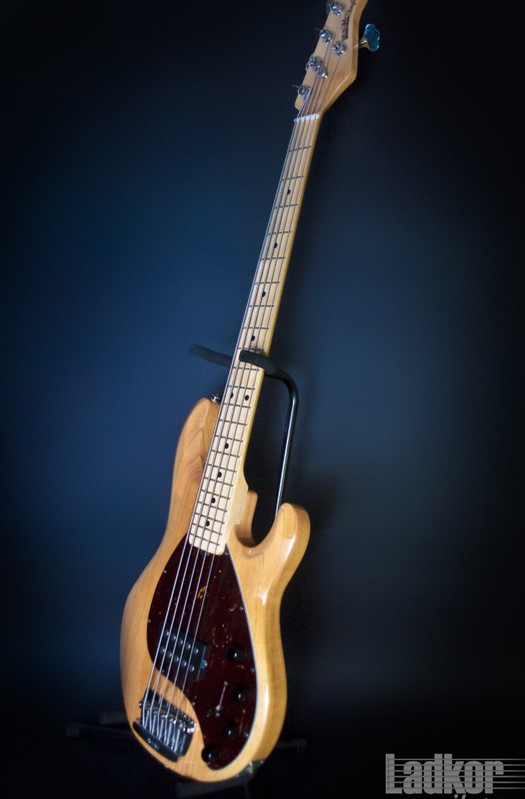 2013 Musicman Stingray 5 Natural Bass New