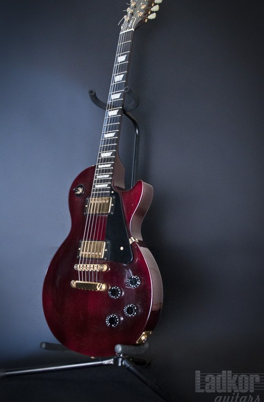 1992 Gibson Les Paul Studio Wine Red Gold