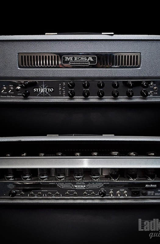 Mesa Boogie Stiletto Trident Stage II Custom Head (USA)