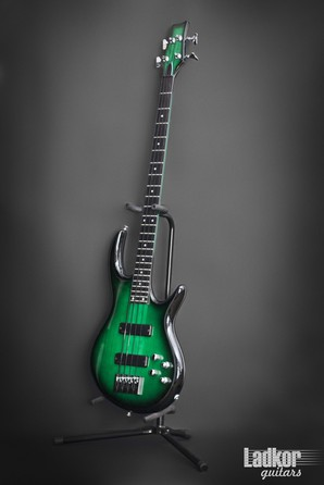 2013 Carvin Icon 4 IC4S Translucent Greenburst Bass USA Custom Shop