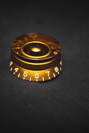 Original Gibson Speed Tone Volume Amber Knob