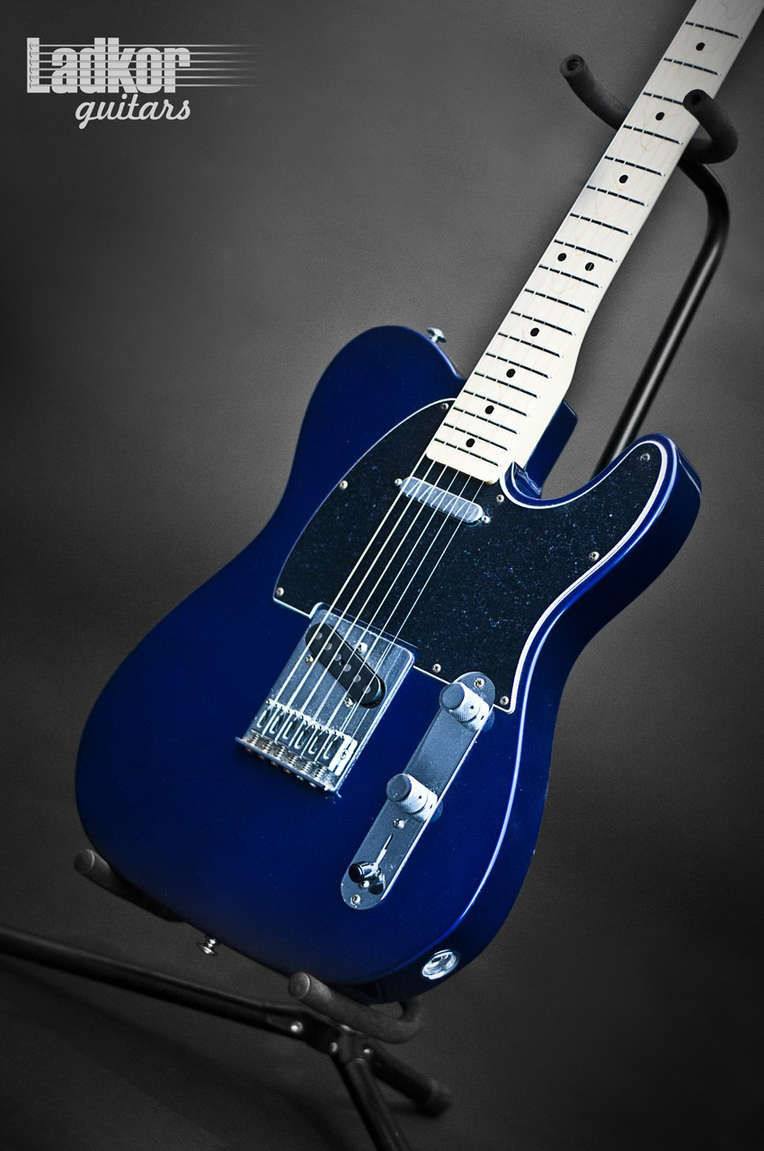 2000 Fender Telecaster Midnight Blue Mexico Mim
