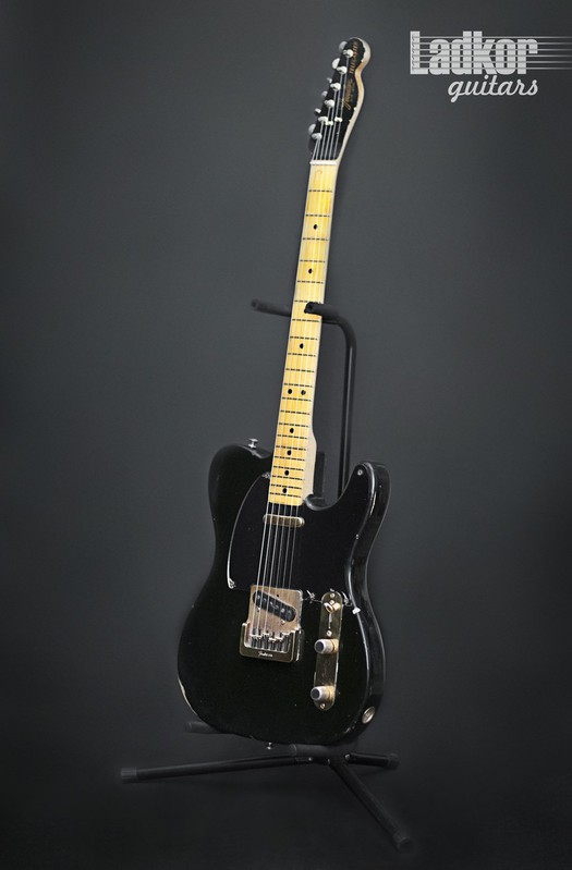 1981 Fender Telecaster Black & Gold Collectors Limited Edition Vintage USA Maple