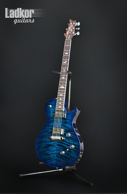 2015 PRS P245 10 top Blue Wrap Burst Custom Color One Of A Kind NEW