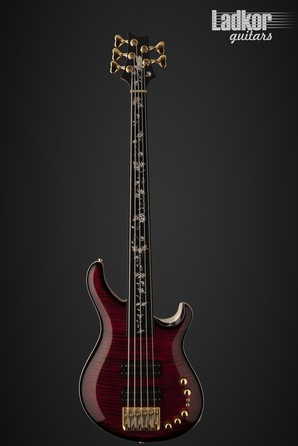 PRS Private Stock Gary Grainger 5 String Fretless Bass Guitar of the Month - July 2016 NEW