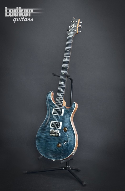 2016 PRS Experience Custom 24-08 Slate Blue 10 Top Limited Edition (1 Of 10)