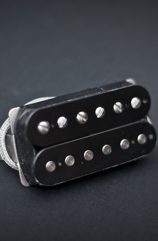 Gibson Classic 57 Uncovered Black Neck Or Bridge Humbucker Pickup