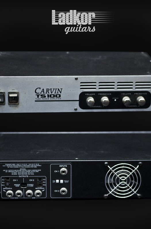 Carvin TS100 Power Amp