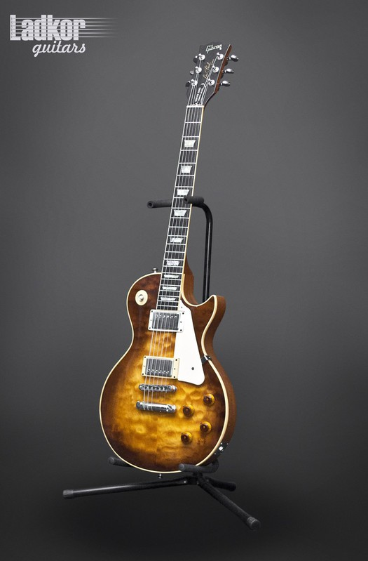 1980 Gibson Les Paul Heritage Series Standard 80 Elite Tobacco Burst Pre Historic 1959 Reissue R9 59 Quilt Top