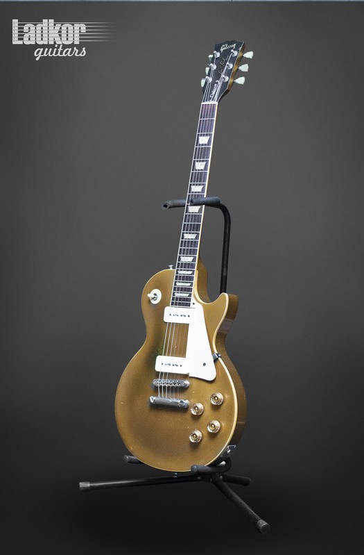 1991 Gibson Les Paul Goldtop Hall Of Fame Deluxe Pre Historic R6 1956 Reissue