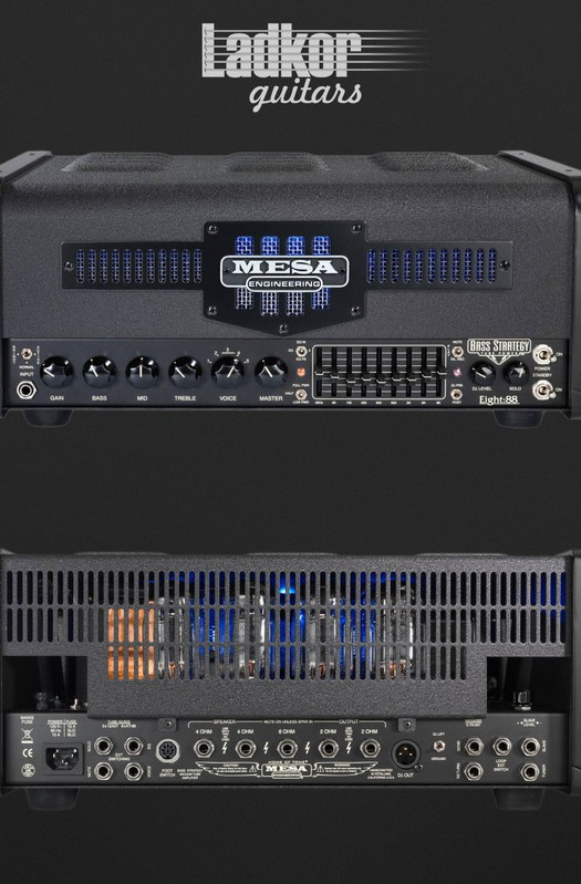 2017 Mesa Boogie Bass Strategy Eight:88 Multi-Watt Head NEW