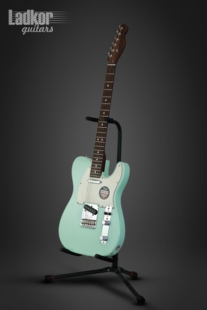 Fender Limited Edition American Standard Telecaster Rosewood Neck Surf Green NEW