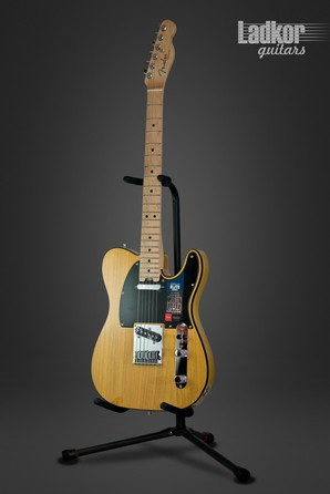 Fender American Elite Telecaster Butterscotch Blonde Maple Fingerboard NEW