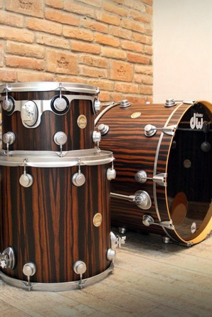 DW Collectors Exotic Macassar Shell Pack Drums