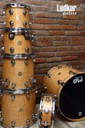 DW Collectors Exotic Curly Maple Natural Shell Pack Drums