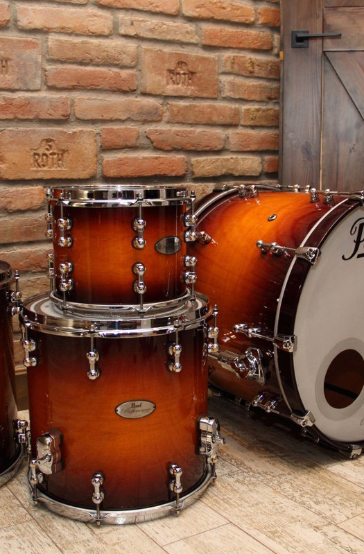 Pearl Reference Pure Sunburst Shell Pack Drums