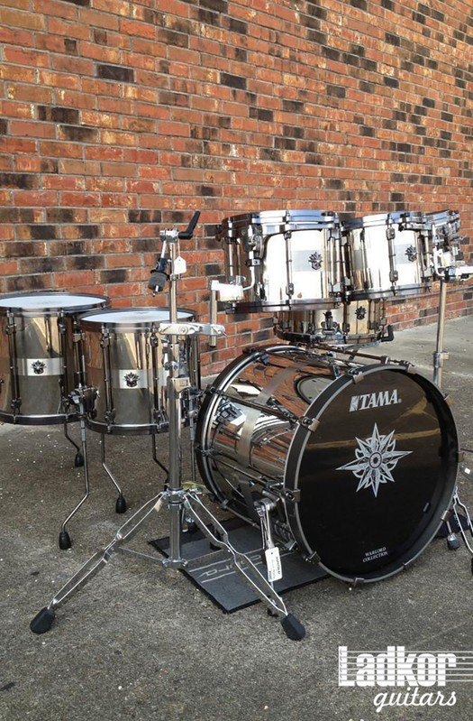 Tama Warlord Spartan Steel Shell Pack Drums Japan