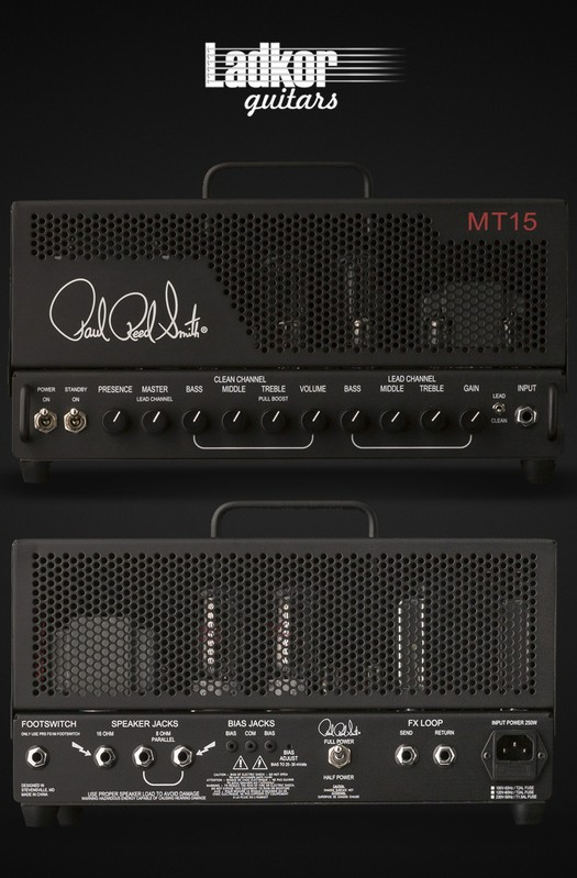 PRS MT15 Mark Tremonti Signature All Tube Head 15 W NEW