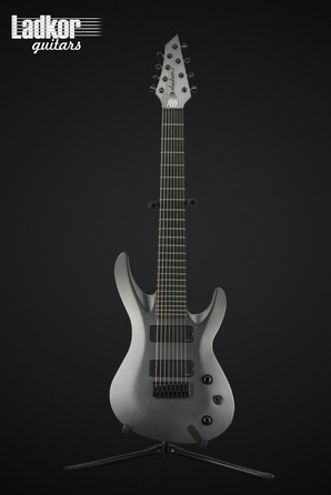 Jackson USA Select B8DXMG Satin Grey Deluxe Neck-Thru EMG B8 8 String Baritone NEW