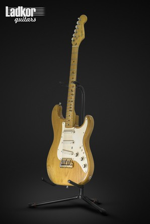 1983 Fender Gold Elite Stratocaster Natural Vintage