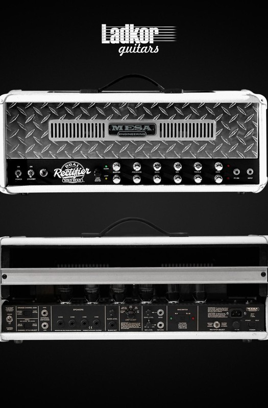 Mesa Boogie Dual Rectifier Head White Bronco Custom Order