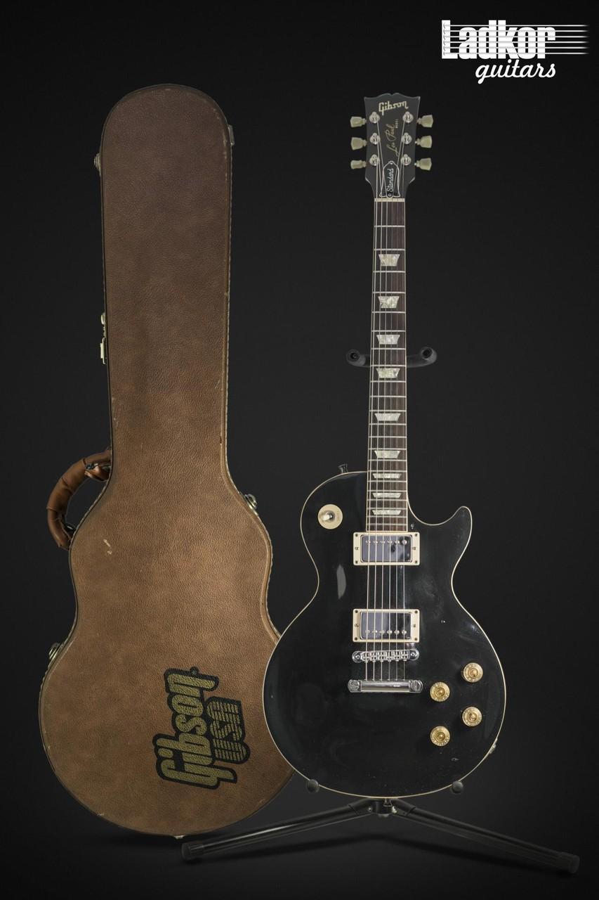 1988 Gibson Les Paul Standard Black