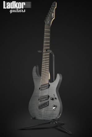 ESP LTD M-1008 MS Multi-Scale Black Satin 8 String NEW