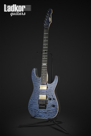 2017 ESP USA MII Cobalt Blue Satin Quilt Top