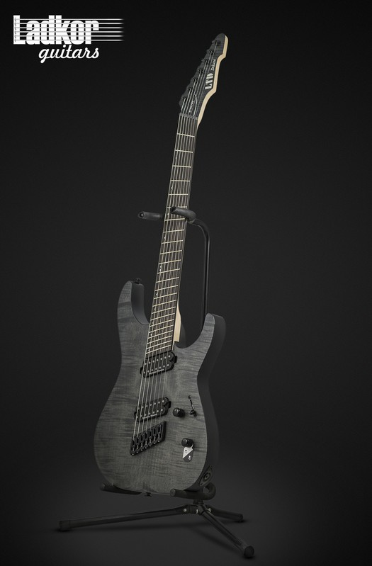 ESP LTD M-1007 MS Multi-Scale Black Satin 7 String NEW