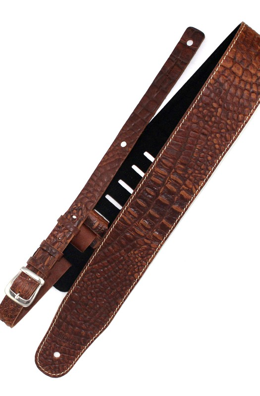 Ремень гитарный Richter GUITAR STRAP LUXURY CAYMAN TAN 1074