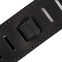 Ремень гитарный Richter GUITAR STRAP RAW II NAPPA BLACK 1390