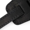 Ремень гитарный Richter GUITAR STRAP RAW III NAPPA BLACK 1408