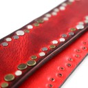 Ремень гитарный Richter GUITAR STRAP RICH RED BURST 1349