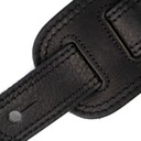 Ремень гитарный Richter GUITAR STRAP SPRINGBREAK I  BLACK / GROMMETS 1485