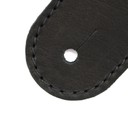 Ремень гитарный Richter GUITAR STRAP RAW V NAPPA BLACK 1505
