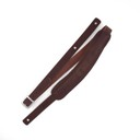 Ремень гитарный Richter GUITAR STRAP SLIM DELUXE BUFFALO BROWN 1022