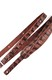 Ремень гитарный Richter GUITAR STRAP  SLIM DELUXE XL CROCO PINE 1027