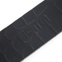 Ремень гитарный Richter GUITAR STRAP SLIM DELUXE  CAYMAN BLACK 1030
