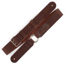 Ремень гитарный Richter BRENT HINDS SIGNATURE GUITAR STRAP / BROWN 1521BH