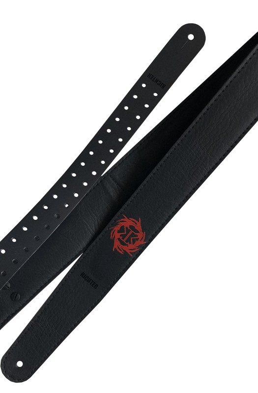 Ремень гитарный Richter MILLE PETROZZA VEGAN POWER  GUITAR STRAP 1582MP-R
