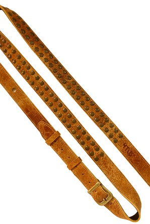 Ремень гитарный Richter RICHARD FORTUS SIGNATURE GUITAR STRAP TAN 1571
