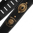 Ремень гитарный Richter MOTÖRHEAD GUITAR STRAP BLACK / OLD BRASS 1566