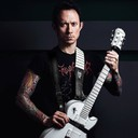 Ремень гитарный Richter DOUBLE GUITAR STRAP MATT HEAFY BLACK & ONI 1612