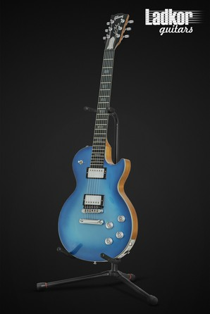 Gibson Les Paul HD.6X-Pro Blue Metallic Digital Guitar Hand Signed by Les Paul RARE Limited 1 of 100