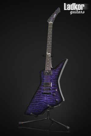 ESP LTD Snakebyte James Hetfield Signature Metallica Special Edition Baritone See Thru Purple Sunburst Quilt Limited 1 Of 500 NEW
