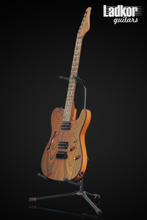 Suhr Alt T Custom Pau Ferro Semi-Hollow Satin Natural