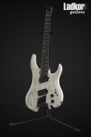 Legator GF6P Ghost Headless Fanned Fret Multi Scale 6 String White Ash Performance Series NEW