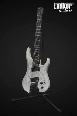Legator GF7P Ghost Headless Fanned Fret Multi Scale 7 String White Ash Performance Series NEW